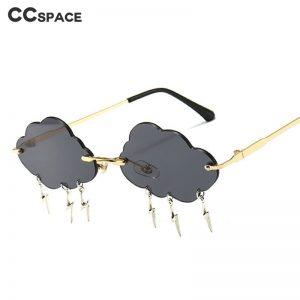 Cloud Lightning Tassel Sunglasses