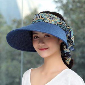 Straw Hat Girls Beach