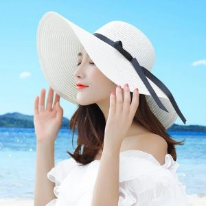 Brim White Straw Hats