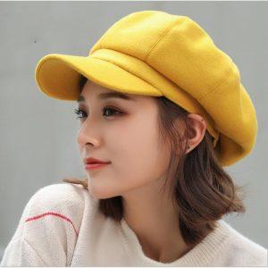 Winter Octagonal Cap Hats