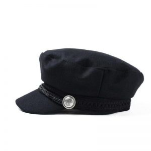Female Button Baseball Cap
