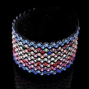 Bezel Crystal Rhinestone Hairband