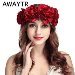 Women Wedding Floral Head