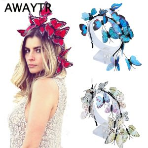 Butterfly Wedding Hair Accessories