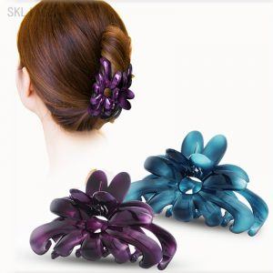 Elegant Flowers Hair Barrettes