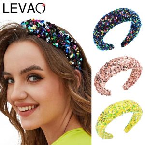 Dots Sequins Sponge Hairband