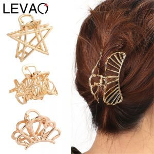 Hair Claw Geometry Hairclip