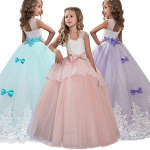 Elegant Girls Princess Dress