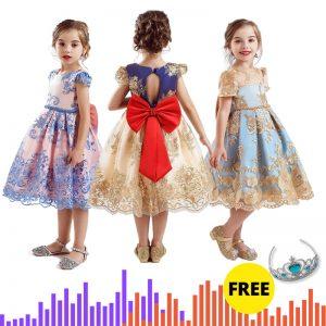 Christmas Dress Girls Clothing