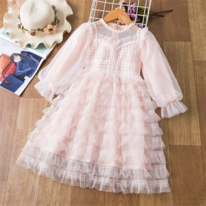 Lace Tulle Girls Dress