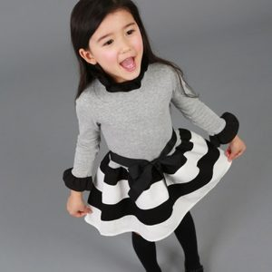 Long Sleeve Kids Dresses