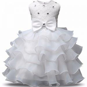 Beading Flower Girls Clothes