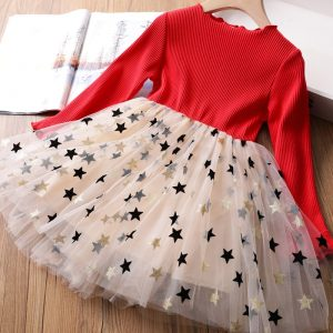 Sequined Princess Dress For Casual