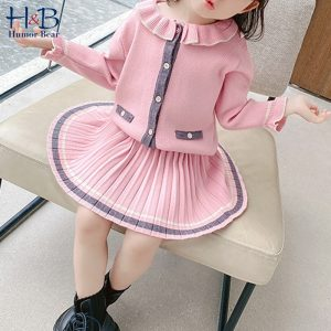 Doll Collar Girls Sweater