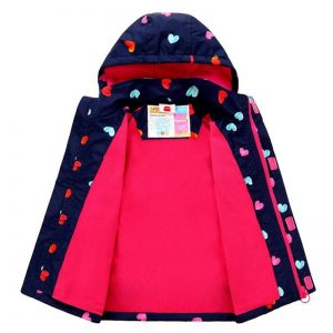 Girl Windproof Waterproof Jackets