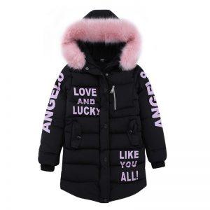 Fashion Kids Hooded Jacket