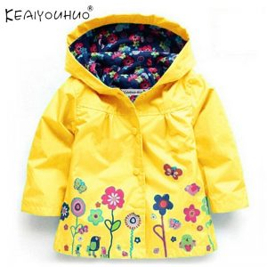Children Jackets Trench Coat