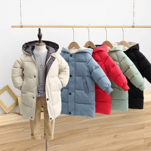 Children's Down Coat Winter