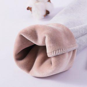 Girls Thickening Warm Pants