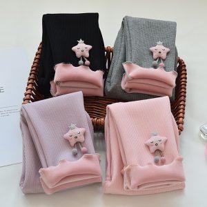 Baby Girls Warm Leggings