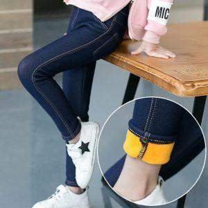 Fashion Pocket Denim Leggings