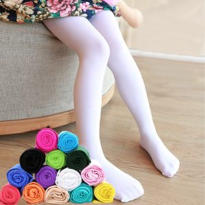 Patterned Flower Nylon Tights