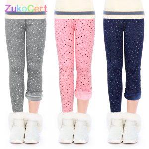 Patterned Cotton Leggings Sweatpants