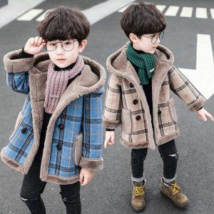 Plaid Street Fashion Coat