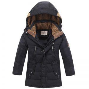 Hoodie Zipper Winter Fur Jacket