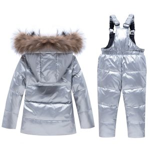Fur Ski Suit Jacket for Infant