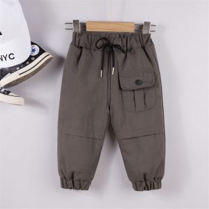 Baby Boys Pocket Trousers