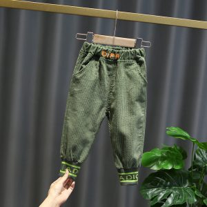 Boys Corduroy Pants Trousers