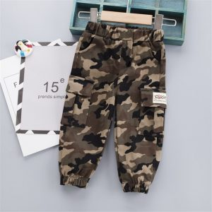 Military Camouflage Spandex Trousers
