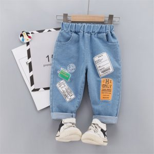 Baby Boys Girls Jeans Pants