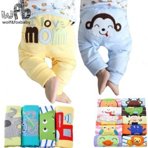 Cartoon Toy Cotton Trousers