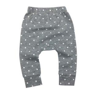 Patterned Design Cotton Pants