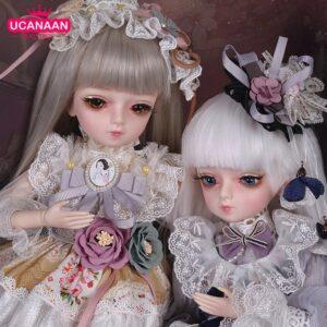 Barbie Toy Silver Doll Wig