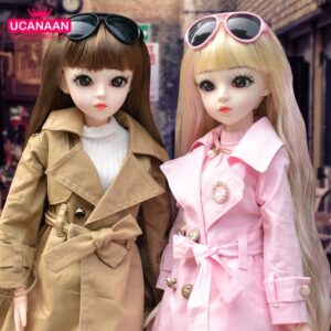 Sunglasses Toy Ball-jointed Doll Wig