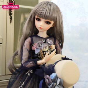 Barbie Toy Plush Hairstyle Eyelashes