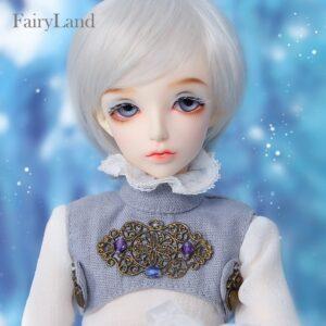 Barbie Toy Silver Hairstyle Eyelashes