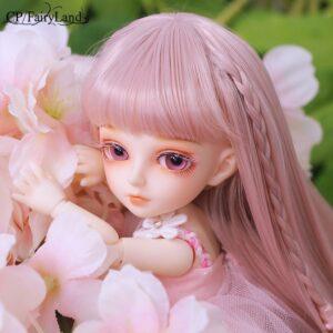 Barbie Toy Plastic Hairstyle Eyelashes