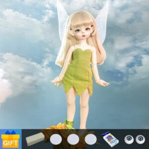 Fairy Human Toy Hairstyle Day Dress