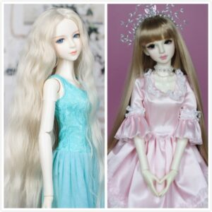 Head Toy Ruffle Hair Coloring