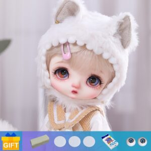 Toy Fur Ball-jointed Doll Eyelashes