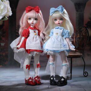 Barbie Toy Artificial Flower Wig