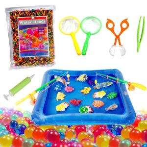 Kids Water Beads Toy Portable Inflatable