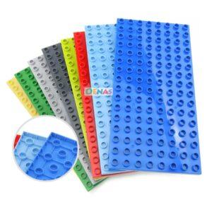 Dots Assemble Particle Building Blocks