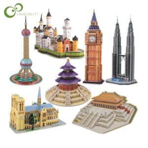 Puzzle Art Architecture Toy Block