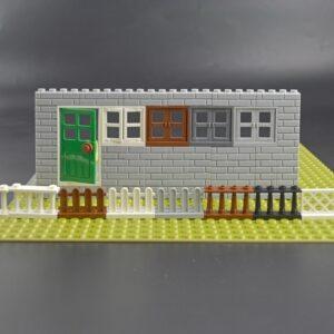 Line Table Art Urban Design Toy Block