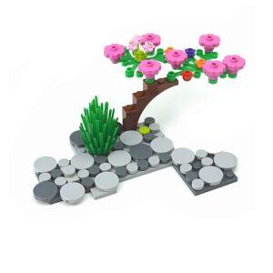 Tree Flower Flowering Plant Keychain